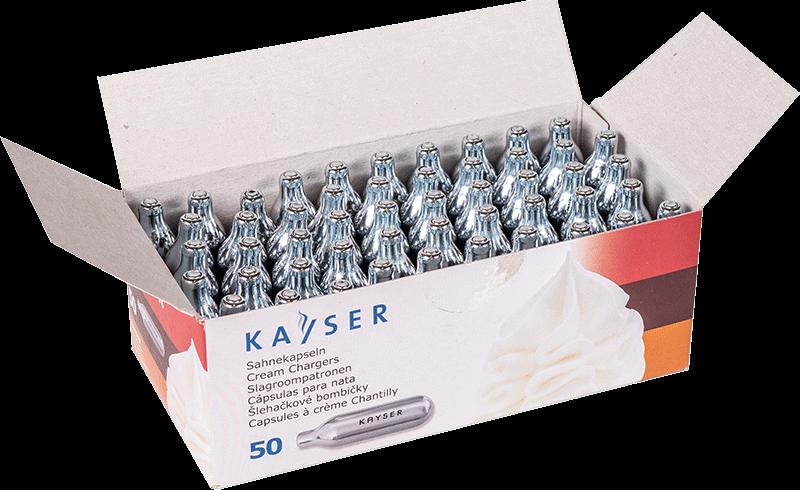 Kayser Capsules à crème chantilly